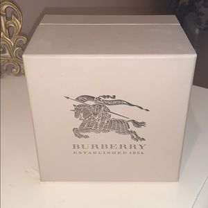Burberry watch box
